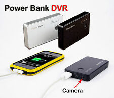720P Motion Activated Spy Camera DVR Power Bank Portable Battery HD Video Spycam