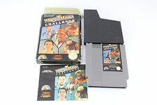 NES Nintendo Wrestlemania WWF Challenge Game Collector's Cart Stunning