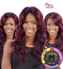 Equal Synthetic 3 Way Part Chantae Lace Front Wig