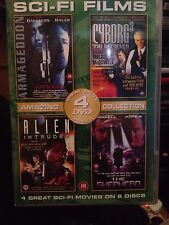 Armageddon/Cyborg 3/Alien Intruder/The Shepherd (DVD, 2008, 2-Disc Set)