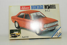 SCHUCO 225 002 1/43 MONTAGE KIT SET AUDI 80 MINT BOXED RARE SELTEN