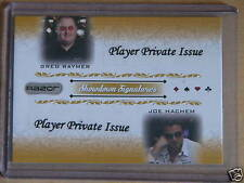 2007 Razor Leaf Poker Private Player Issue QUAD Raymer /10