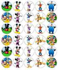 Mickey Mouse Club House Cupcake Toppers Edible Wafer Paper BUY 2 GET 3RD FREE!