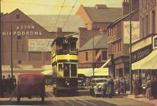 Birmingham City Tram Aston Hippodrome unused GS Cooper postcard