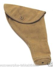 1943 British 455 webley holster tan canvas fits US 45 unclear each E7243