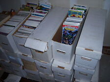 1 box Lot of 50 MARVEL & DC comics bagged & boarded NO duplication free shipping