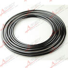 "ALUMINIUM Fuel LINE 3/8"" 9.5MM X 25 Ft (7.6m) ROLL FUEL /OIL /WATER /E85 BLACK"