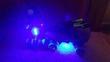 LED Strip Blue Bright Roller Jam Skate Lights Longboards, Inline, Scooter Bike