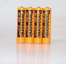 4X Panasonic HHR-75AAAB5B 1.2V Ni-MH AAA Rechargeable Cordless Phone Batteries