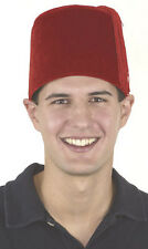 """Fezes Are Cool!""- Red FEZ Cap- New, Unworn-As worn by Mat Smith on Doctor Who-"