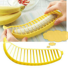 Banana Slicer Cutter Chopper Fruit Salad Cucumber Vegetable Peeler Tool Kitchen