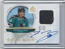 FRAZER MCLAREN 2009-10 SP AUTHENTIC FUTURE WATCH 2 COLOR PATCH AUTO RC #D 57/100