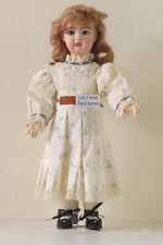 """Antique doll Repro: French Baby    """"J.....""""  1907 mold Ref: J, 45 cm 17.8 inch"""
