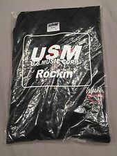 Washburn USA Custom Shop Golf / Polo Style Shirt Black Size XL Dime 3 N4 Ola Bag