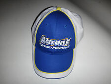NASCAR Racing Car Sponsor AARON'S DREAM MACHINE Ball Hat With Velcro Back *New*