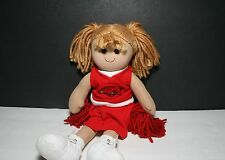 Arkansas Razorbacks Plush, Cloth Cheerleader Doll