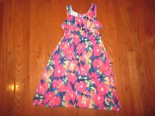 * NEW * THE CHILDREN'S PLACE FLORAL SLEEVELESS DRESS - SIZE 7-8  *