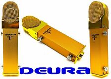 DEURA GOLDEN Large Diaphragm Phantom Power Studio Condenser Microphone DCM-800G