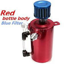 0.5L Oil Catch Tank Can Reservoir With Breather Filter Alloy Car Racing Engine