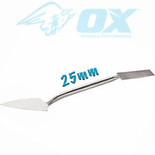 OX Tools Plastering Small Tool Cornice Render Painting Sculpture Art 25mm