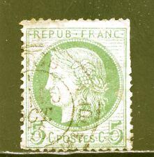 FRANCE  N° 53 FOND LIGNE, cote: 90€, des petits défauts