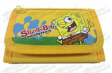 Nickelodeon Spongebob SquarePants Teen Boys Tri-Fold Wallet - Yellow