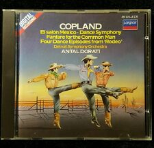 Copland: Orchestral Works / Dorati, Detroit SO (CD, London/Decca)