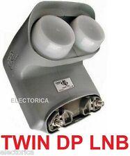 NEW TWIN BELL EXPRESS VU DISH NETWORK PRO DP LNB  FTA HD BUILT IN SWITCH HDTV