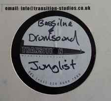 "DUBPLATE: BASSLINE & DRUMSOUND - Junglist / Get Through Dis - 12"" Acetate"