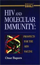HIV & Molecular Immunity Prospects for AIDS Vaccine Hardcover Book Bagasra Signd