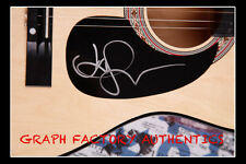 GFA  I Won't Give Up  * JASON MRAZ *  Signed Acoustic Guitar AD3 PROOF COA