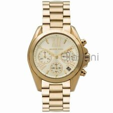 Michael Kors Original MK5798 Women's Mini Bradshaw Gold Chronograph 36mm Watch