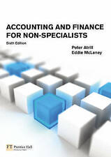 Accounting and Finance for Non-Specialists, Good Condition Book, Dr Peter Atrill