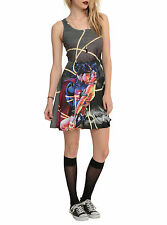 Superman Kissing Wonder Woman Dress NEW! Large Juniors Licensed! FREE SHIPPING!