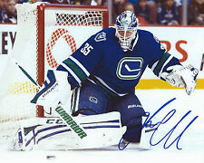 Jacob Markstrom Signed 8×10 Photo Vancouver Canucks Autographed COA D