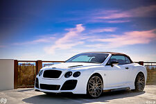 BENTLEY CONTINENTAL 04-12 GT/GTC FULL BODY KIT FRONT/REAR BUMPER SIDE SKIRTS