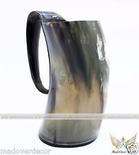 VIKING DRINKING HORN MUGS FOR BEER,WINE,MEAD & PAGAN GAME OF THRONES