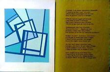 Mario RADICE - Poesie di Baudelaire - 10 serigrafie