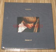 TAEMIN SHINee 1ST ALBUM Press It K-POP CD + PHOTOCARD + FOLDED POSTER SEALED