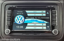 "RNS510 STYLE HD DVD SD GPS SAT NAV 7"" VW PASSAT TOURAN GOLF MK5 6 T5 POLO 510"