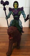 Vintage Masters Of The Universe He-Man Mattel Action Figure Skeletor & Panthor