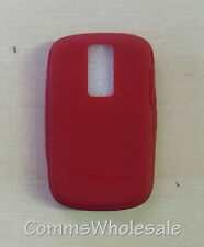 Genuine Blackberry Bold 9000 ACC-17001-204 Red Skin NEW