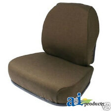 BROWN FABRIC SEAT CUSHION SET JOHN DEERE 7600, 7700, 7800  FARM TRACTORS  #GZ