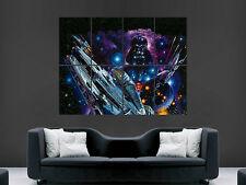 STAR WARS POSTER MILLENNIUM FALCON DARTH VADER XWING WALL DEATH STAR ART  PRINT