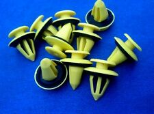 (2073) 10x panneau de porte clips fixation colliers support panel Clip Jaune