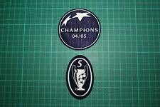 UEFA CHAMPIONS LEAGUE WINNER and 5 TIMES TROPHY BADGES 2004-2005
