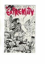 Extremity #1 | Limited Edition Ashcan Preview Variant Cover | Image Comics 2017