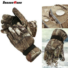 Men Tactical Winter Ski Hunting Sports Motorcycle Thermal Warm Waterproof Gloves