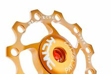 KCNC Road MTB Bike Rear Derailleur Pulley Jockey Wheel 11t for Shimano 9g Gold