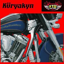 Kuryakyn Chrome Deluxe Neck Covers for H-D 95-'05 Touring 8146